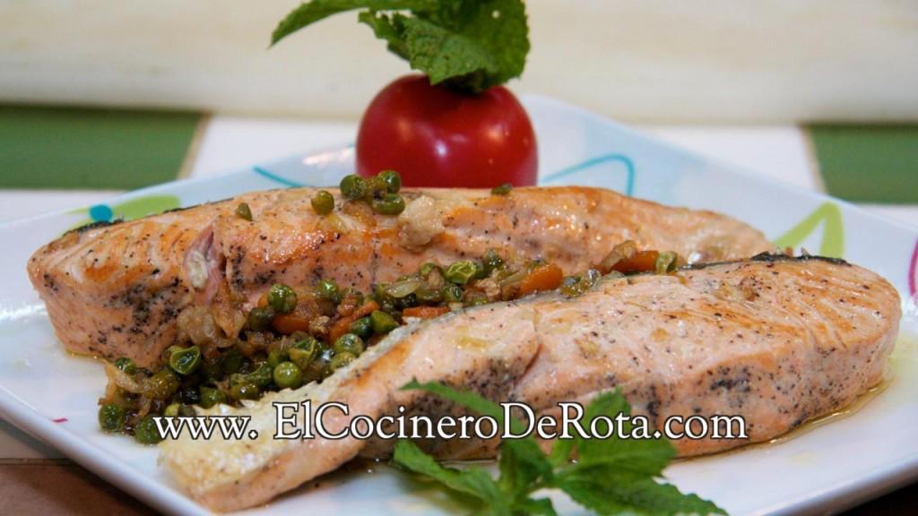 Salmon con Guarnicion